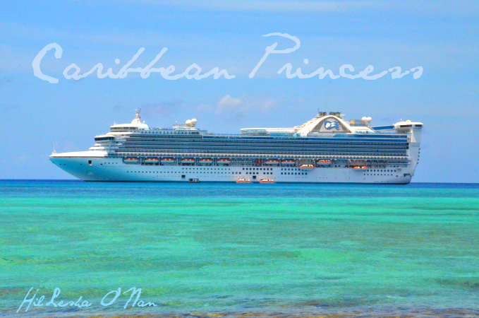 Caribbean Princess Cruise at Princess Cays, Bahamas