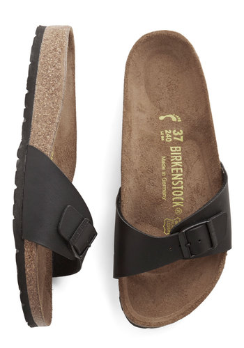 Birkenstock Zest Foot Forward Sandal in Black $69.99