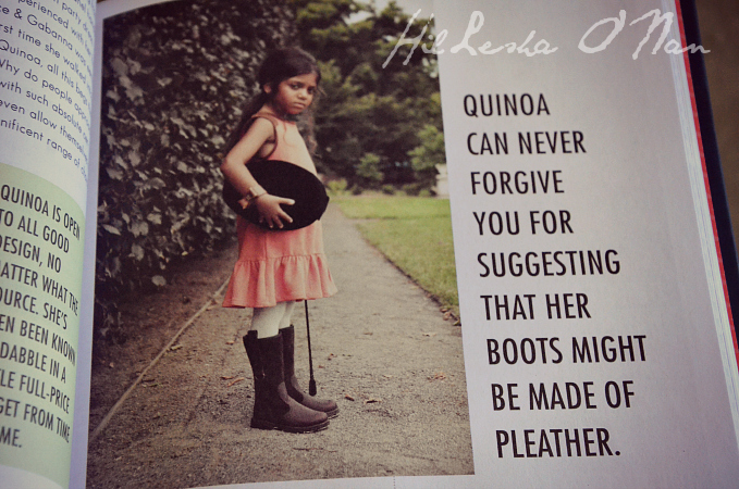 How to Quinoa Life Lessons from My Imaginary Well-Dressed Daughter