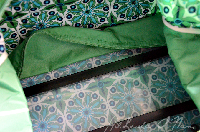 Inside the Cinda B Carry-On Rolly