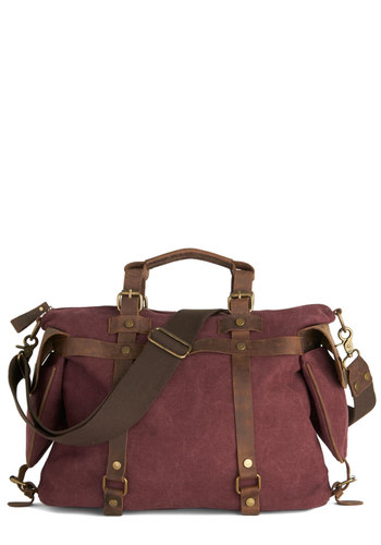 In the Event of Adventure Bag in Cabernet $109.99