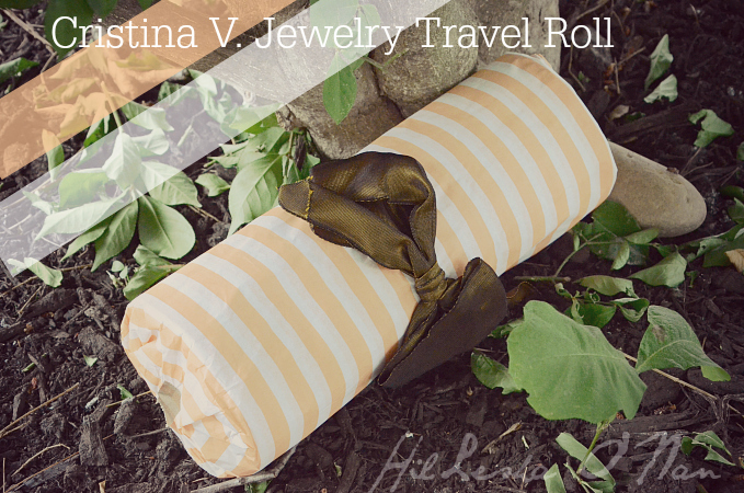 Packaging for Cristina V. Jewelry Travel Roll