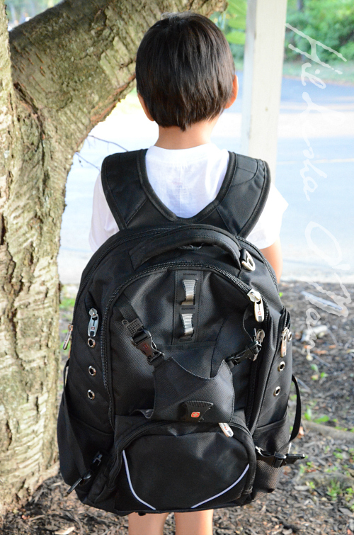 Black SwissGear Backpack