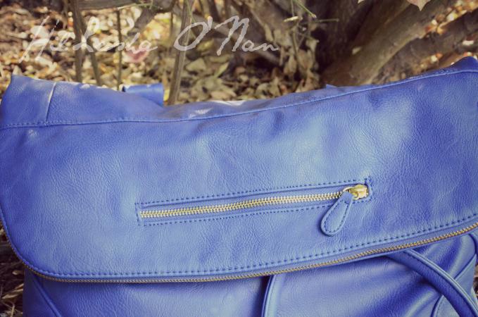 Quinn Handbag in Cobalt Blue