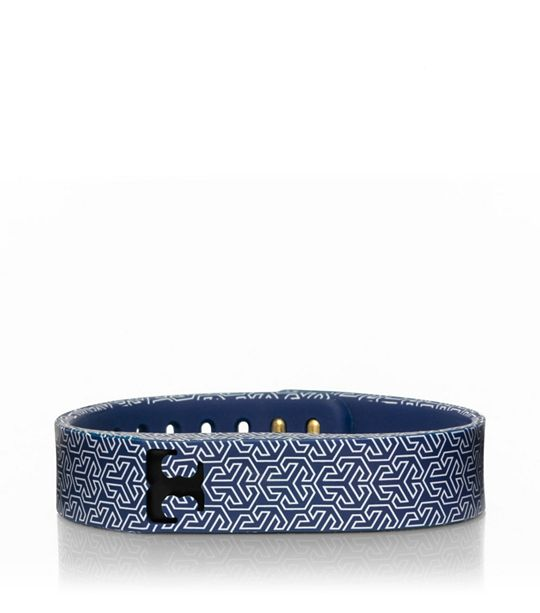 Tory Burch for Fitbit Silicone Printed Bracelet, $38