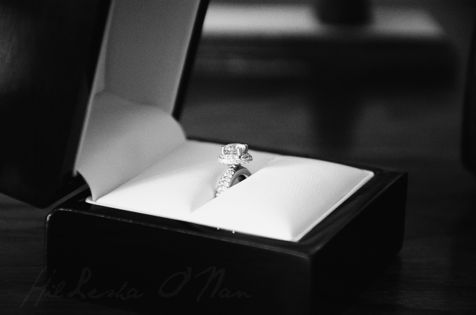 Anjolee Double Row Diamond Halo Engagement Ring