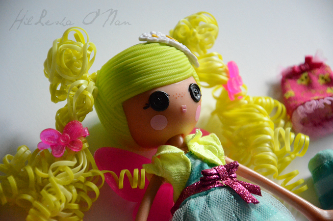 Closer Look of the Lalaloopsy Girls Pix E. Flutters Doll