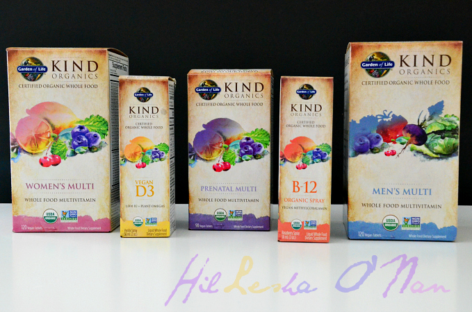 Kind Organics Vegan Vitamins by Garden of Life