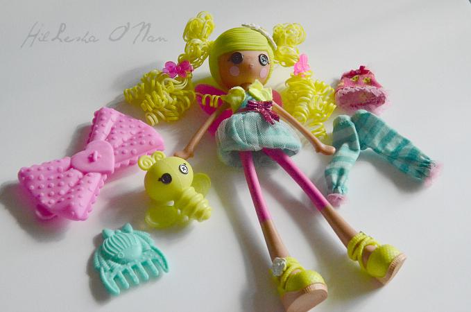 Lalaloopsy Girls Pix E. Flutters Doll  II