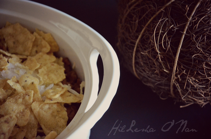 Pumpkin Taco Casserole