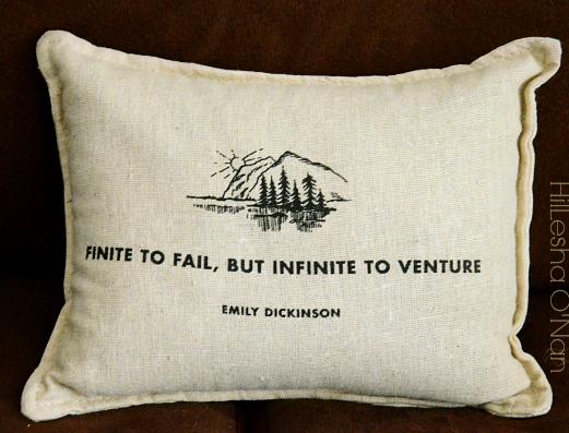 Emily Dickinson Balsam Pillow