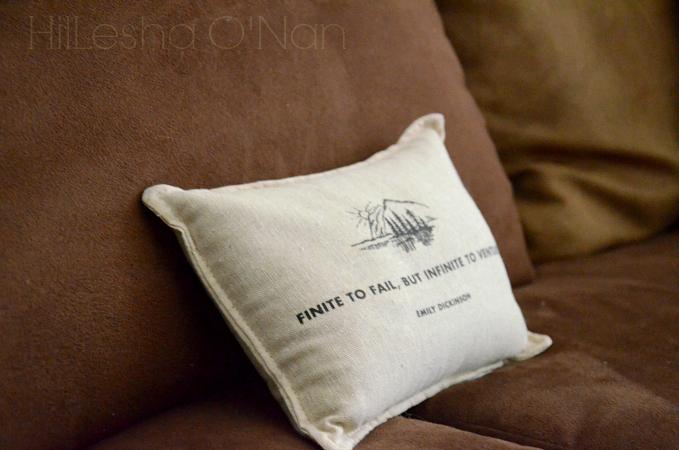 Emily Dickinson Pillow