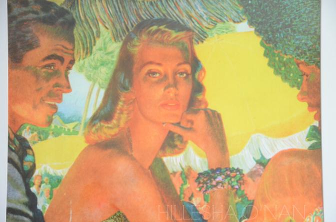 1940s Couple at a Tropical Beach Club