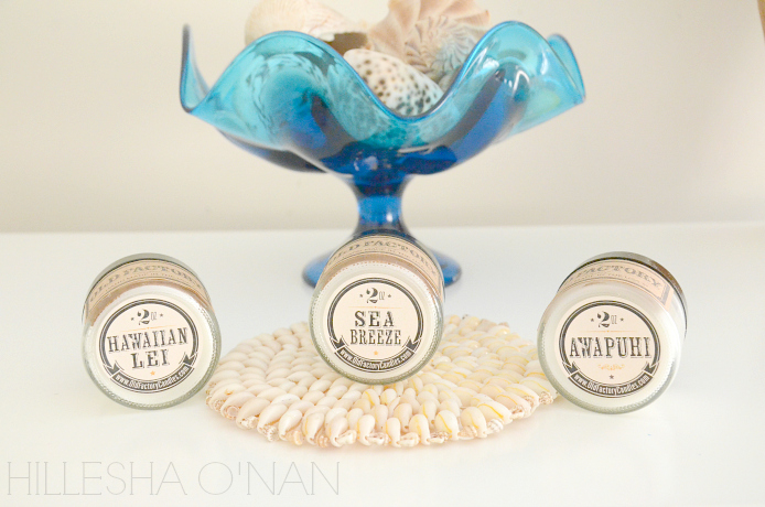 Beach Inspired Collection - Old Factory Candle Gift Set