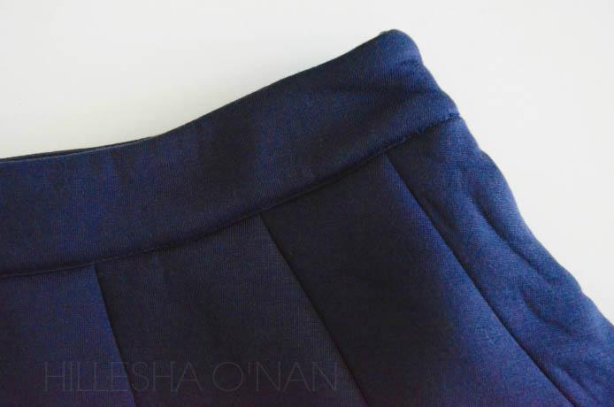 JOA Neoprene Mini Skirt