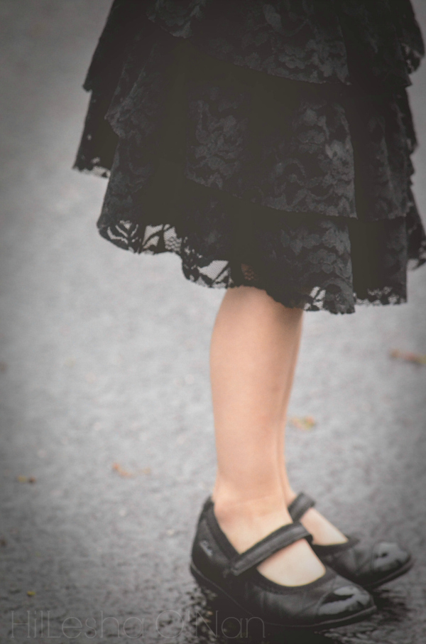 Clarks Dance Glory Ballet Flats in Black Leather