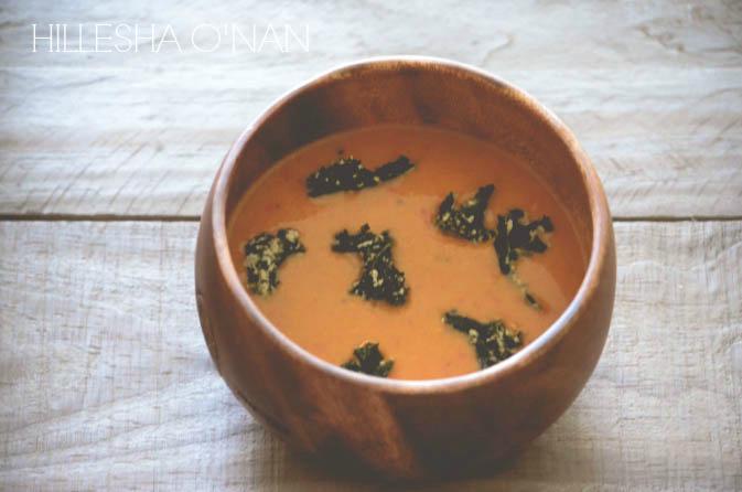Vegan Moroccan Red Pepper Soup_