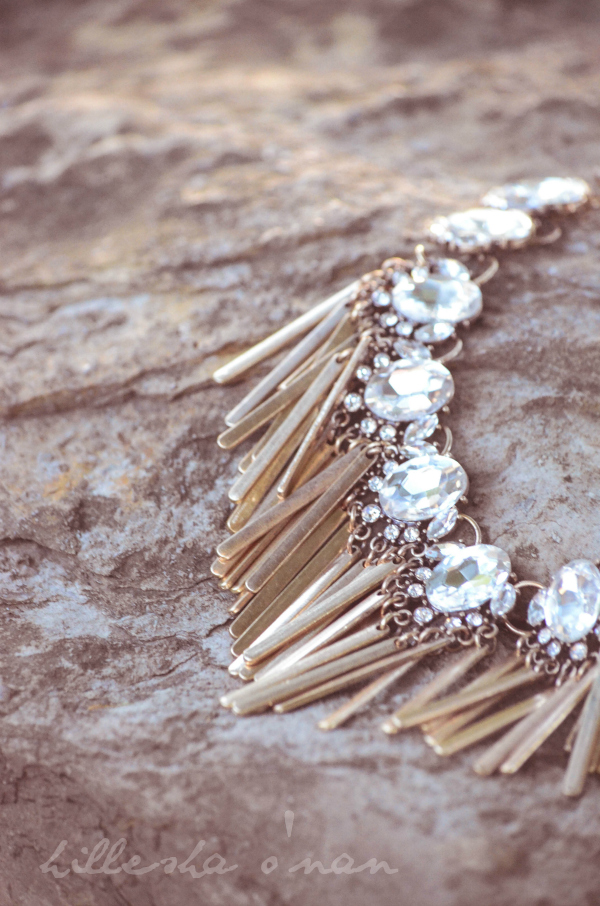 Bombshell Fringe Necklace Bombshell Fringe Necklace by The Jewel Bar