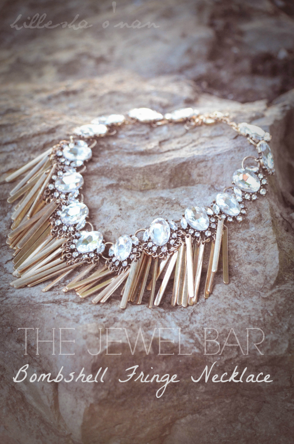 Bombshell Fringe Necklace Bombshell Fringe Necklace