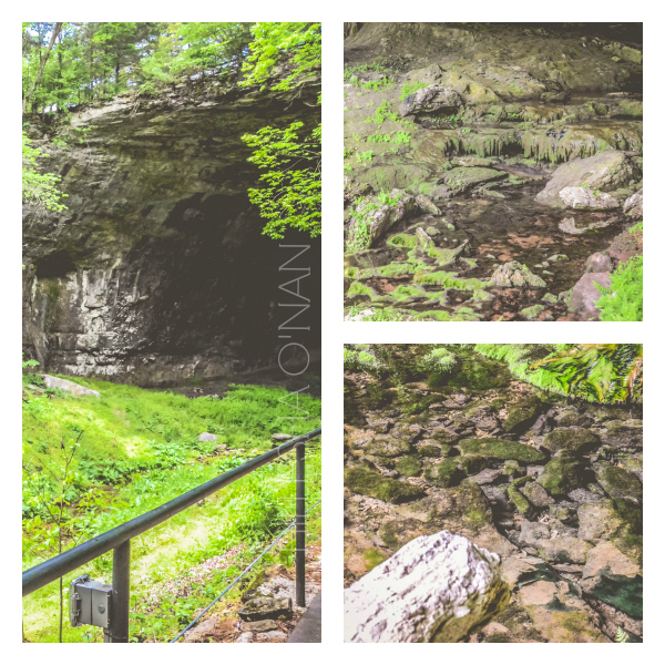 Smallin Civil War Cave Entrance