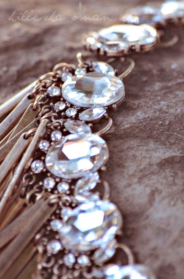 The Jewel Bar  Bombshell Fringe Necklace Bombshell Fringe Necklace