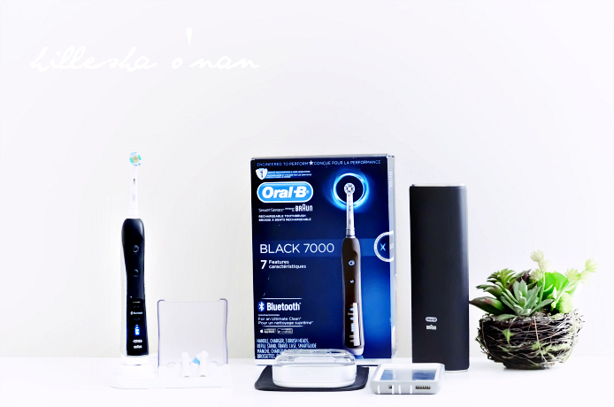 Braun OralB Oralbrush PC 7000 Black Electric Toothbrush