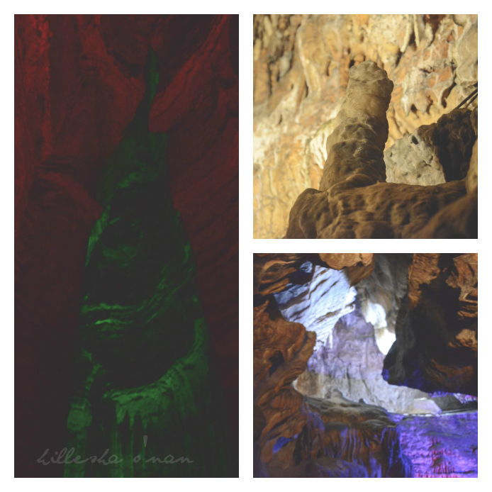 Ruby Falls Rock Formations