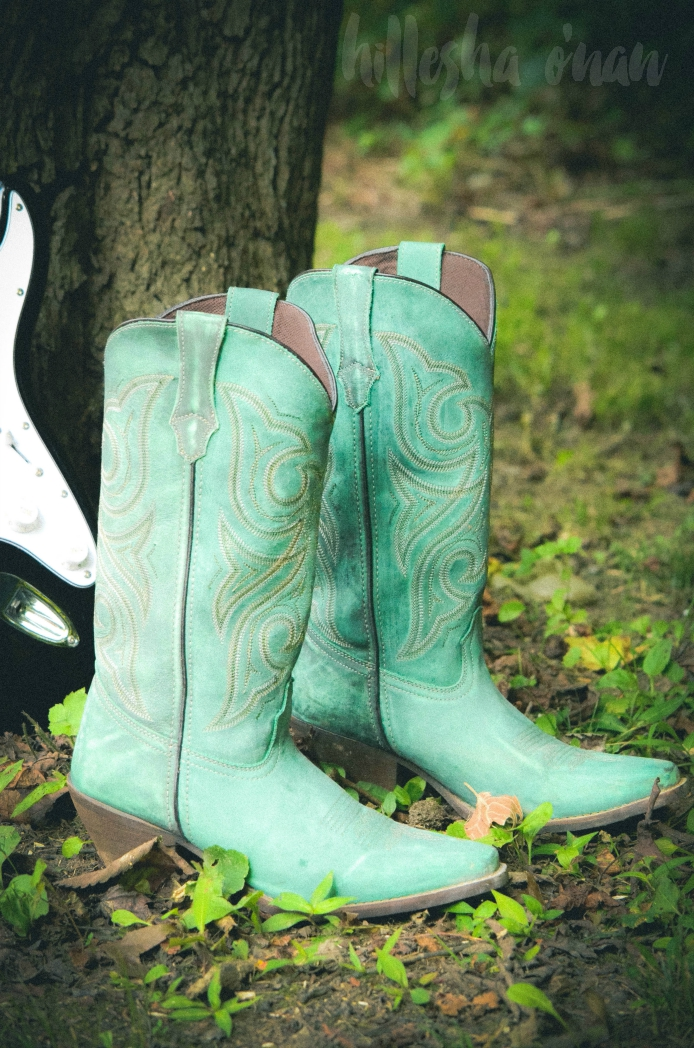 Durango Marbled Turquoise Western Boots