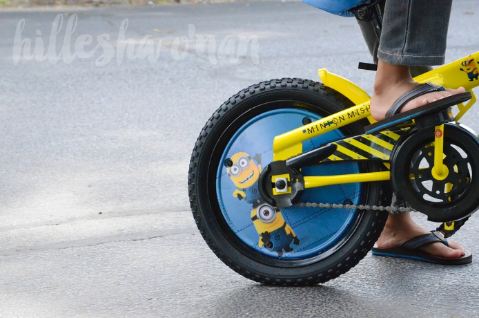 Minion Mishap Bike with Sound Feature