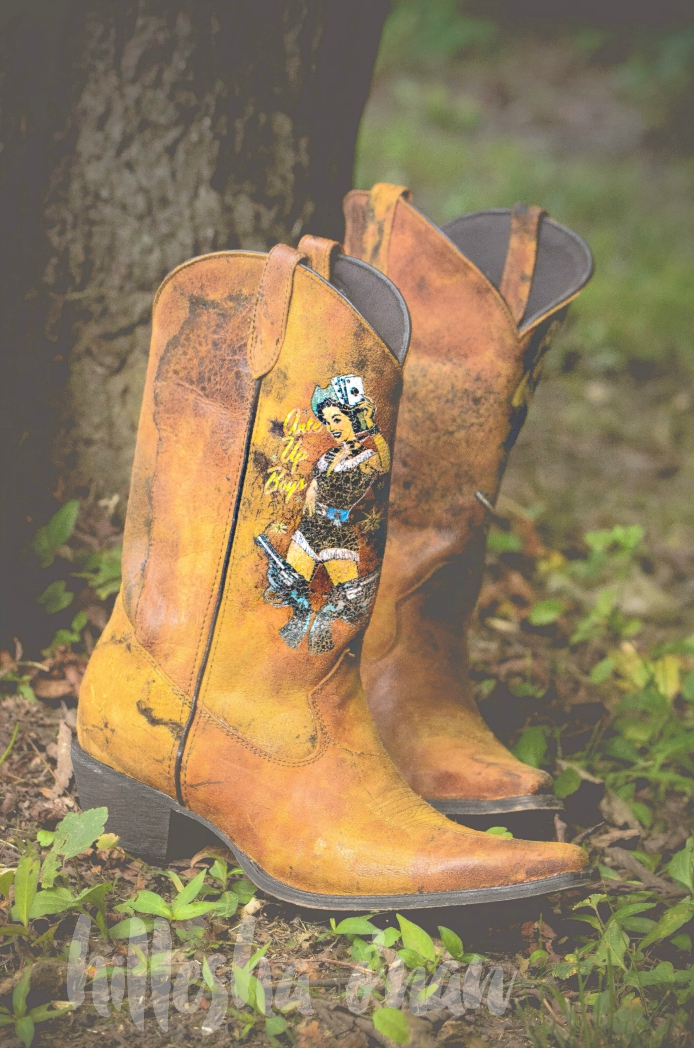 Pin Up Western Boots