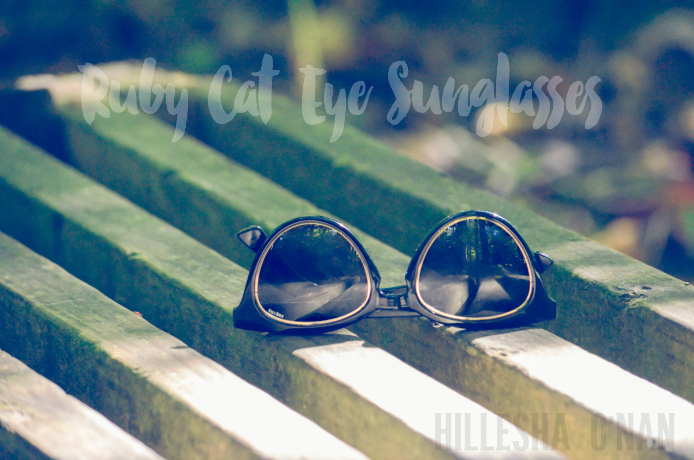 Ruby Cat Eye Sunglasses