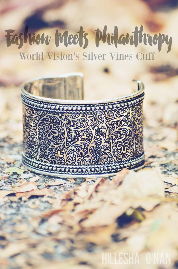 Silver Vines Cuff