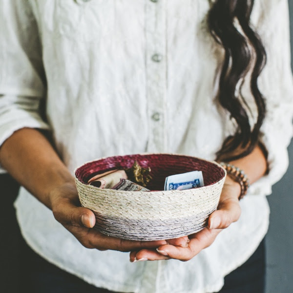 Handwoven Bowl by Makaua