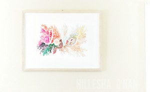 Love is in the Air at Minted: Love Wall Art Print by Kelly Ventura