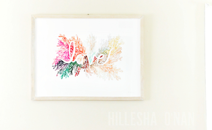 Minted Limited Edition  Love Wall Art Print by Kelly Ventura