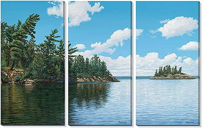 lake-scene-wrapped-canvas