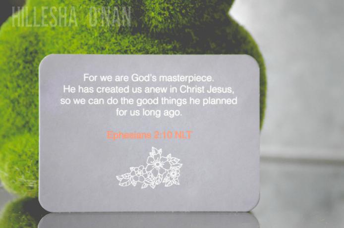 Ephesians 210 Bible Scripture Card
