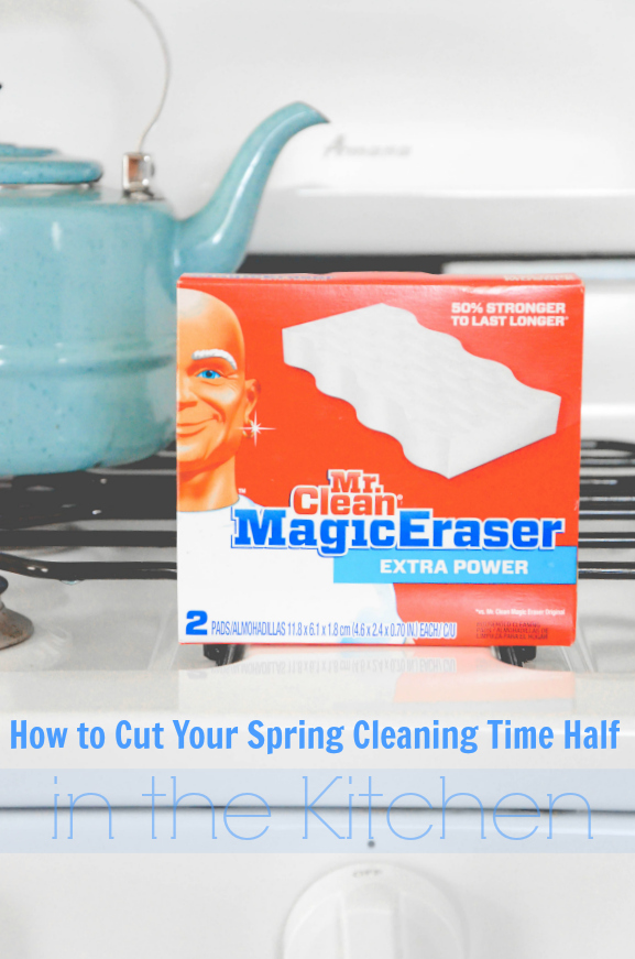 How to Cut Your Spring Cleaning Time Half in the Kitchen