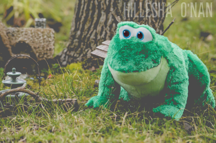 Kohl's Stuffed Frog Toy