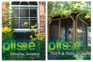 Plisse Retractable Screens