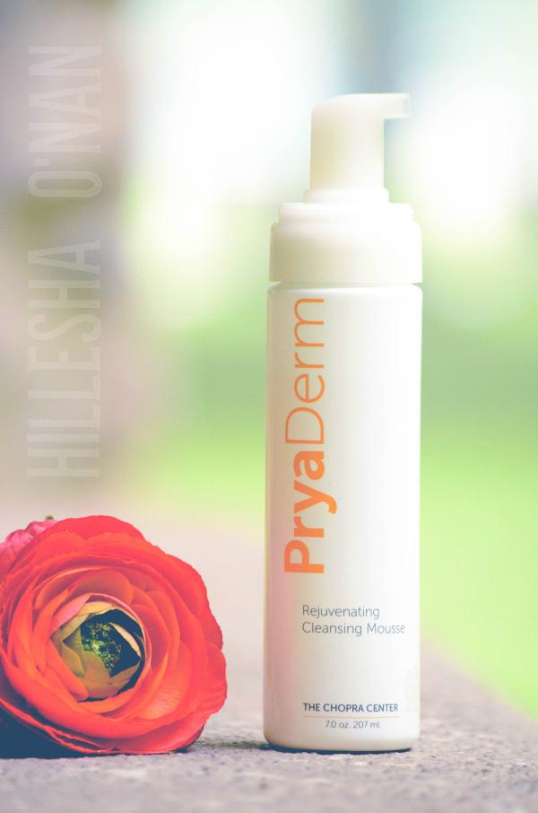 PryaDerm Rejuvenating Cleansing Mousse