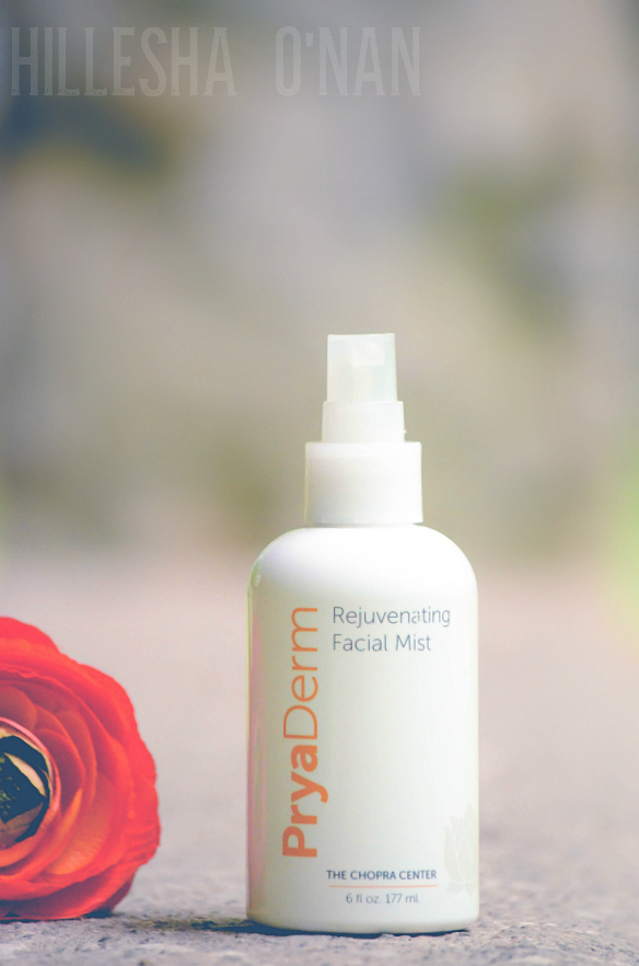 PryaDerm Rejuvenating Facial Mist