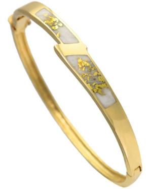 Contemporary-Gold-Quartz-Bangle-Bracelet