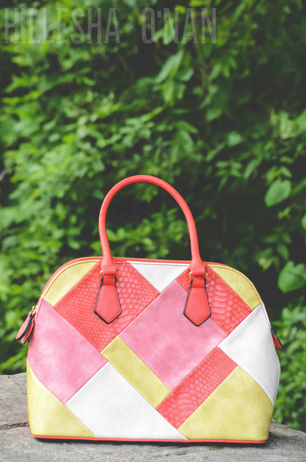 Desert Sunset Coral Patchwork Handbag Review