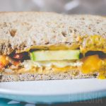 Breakfast Veggie Sandwich
