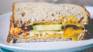 Breakfast Veggie Sandwich