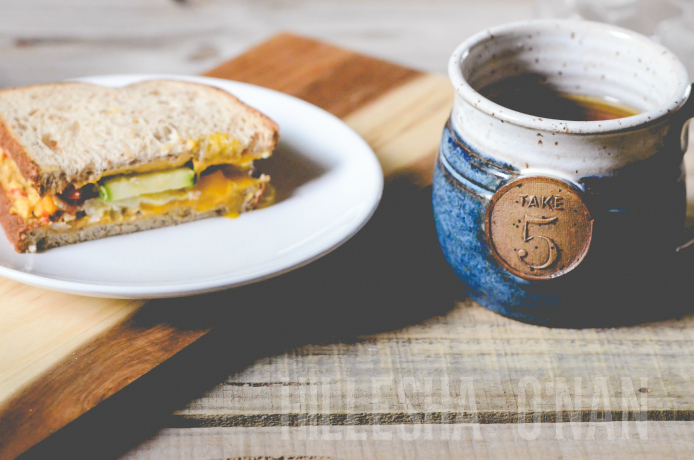 Breakfast Veggie Sandwich Recipe