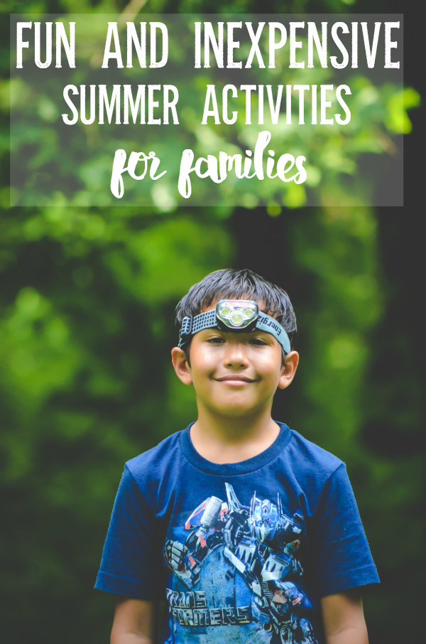 Fun and Inexpensive Summer Activities for Families