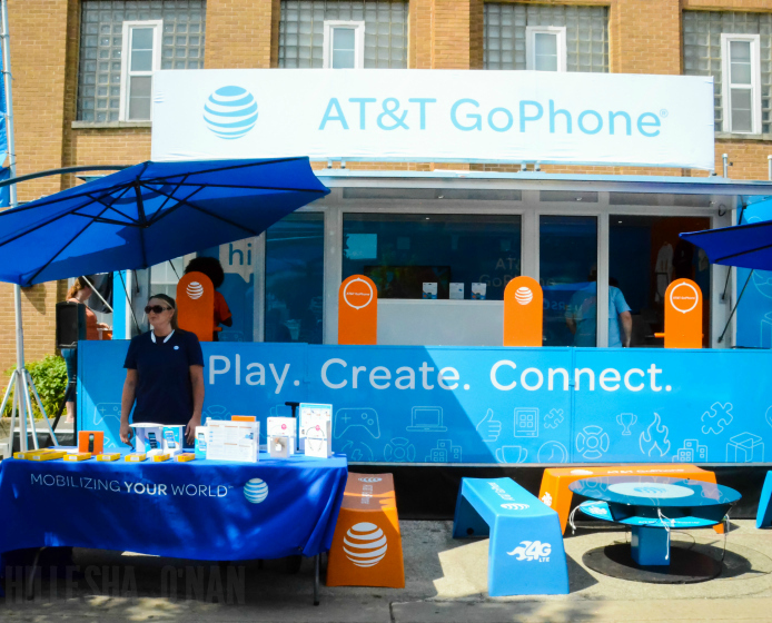 GoPhone Booth at Indiana State Fair