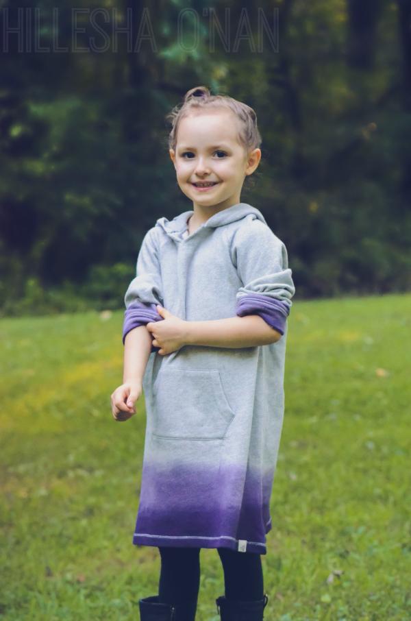 Kids Dip Dye Dress